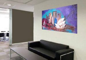 exhibit art in your workplace